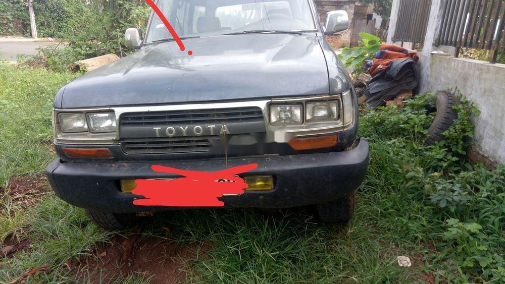 Bán Toyota Land Cruiser 1987, màu xám, nhập khẩu  (5)