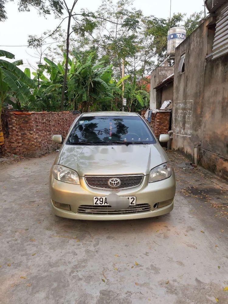 Bán ô tô Toyota Vios năm 2005, màu vàng cát, 148 triệu (1)