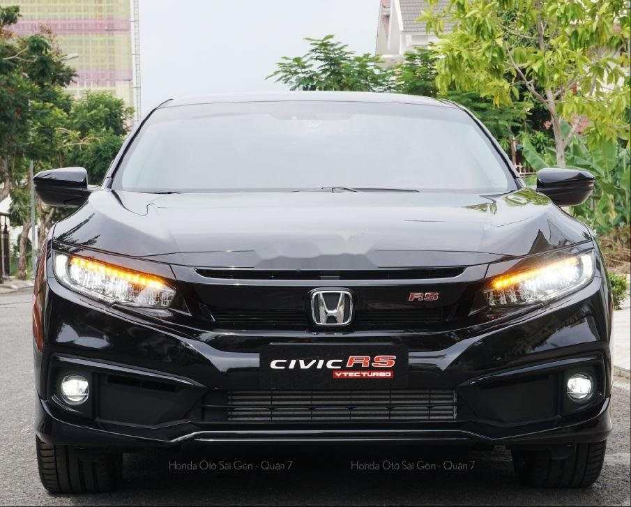 Cần bán Honda Civic đời 2019, màu đen, nhiều khuyến mại khủng (1)