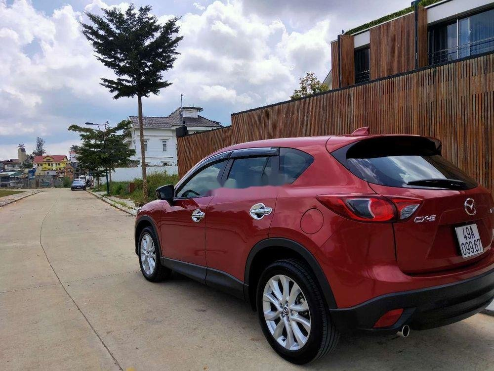 Bán lại xe Mazda CX 5 đời 2014, màu đỏ, ít sử dụng  (4)