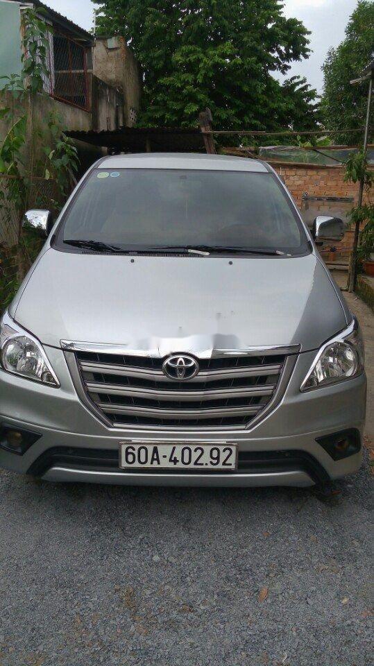 Cần bán Toyota Innova đời 2014, màu bạc, 510 triệu (1)