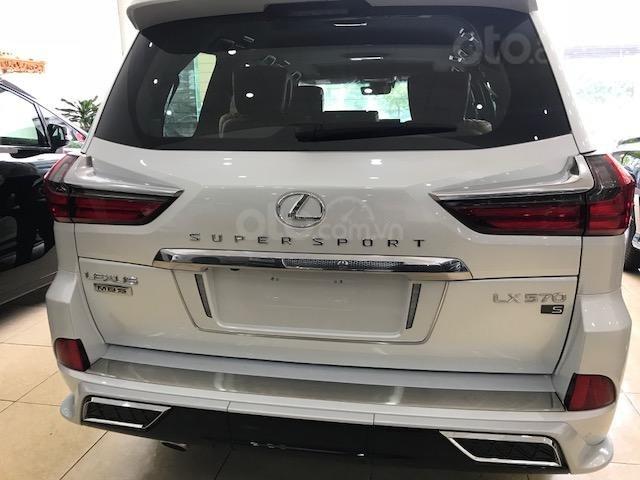 Lexus LX570 Autobiography MBS 4 ghế massage màu trắng, nội thất nâu da bò, model 2020 mới nhất (4)