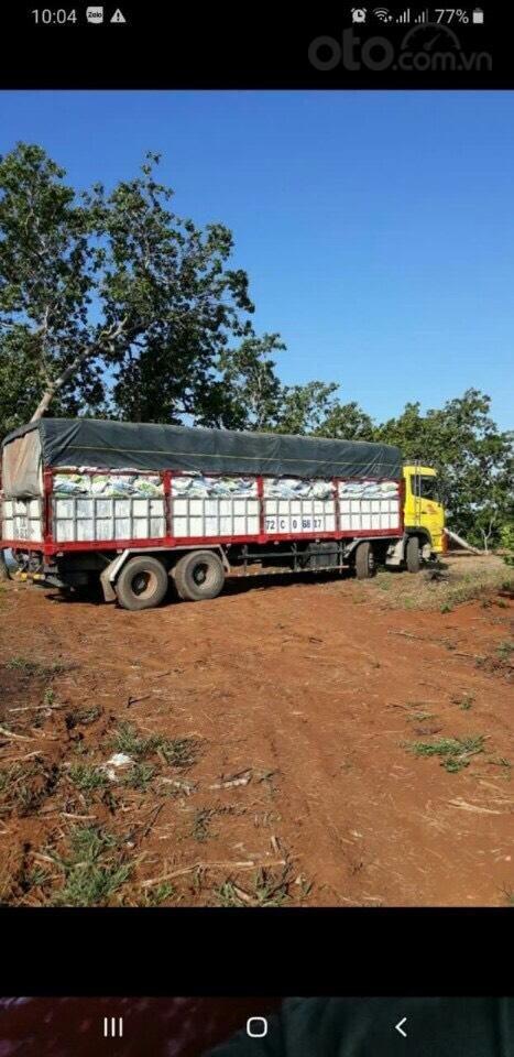 Bán xe tải Hoàng Huy 4 chân đã qua sử dụng đời 2015, lốp mới cả giàn (6)