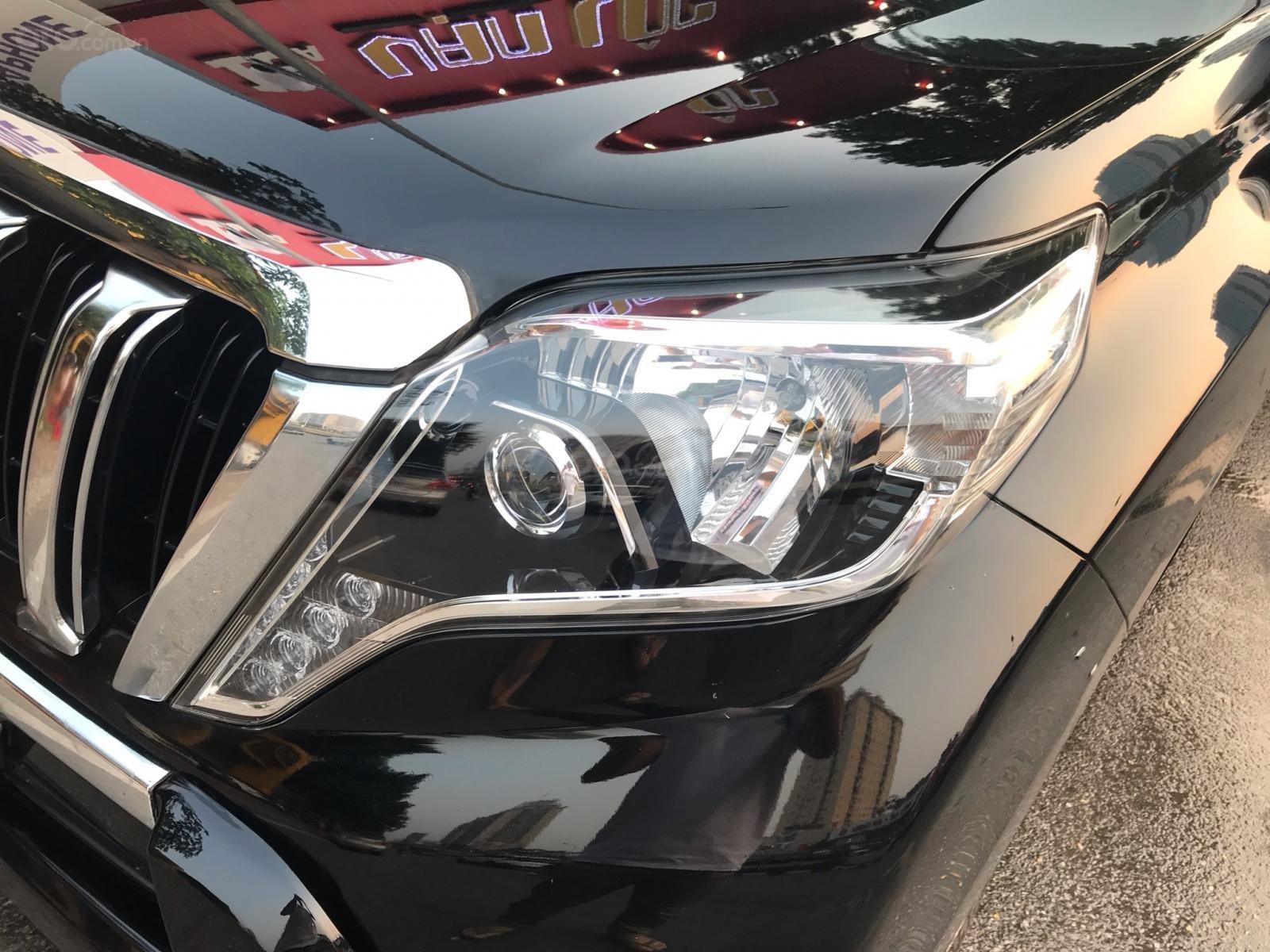 Bán Toyota Land Cruiser 2017, màu đen, xe nhập (10)