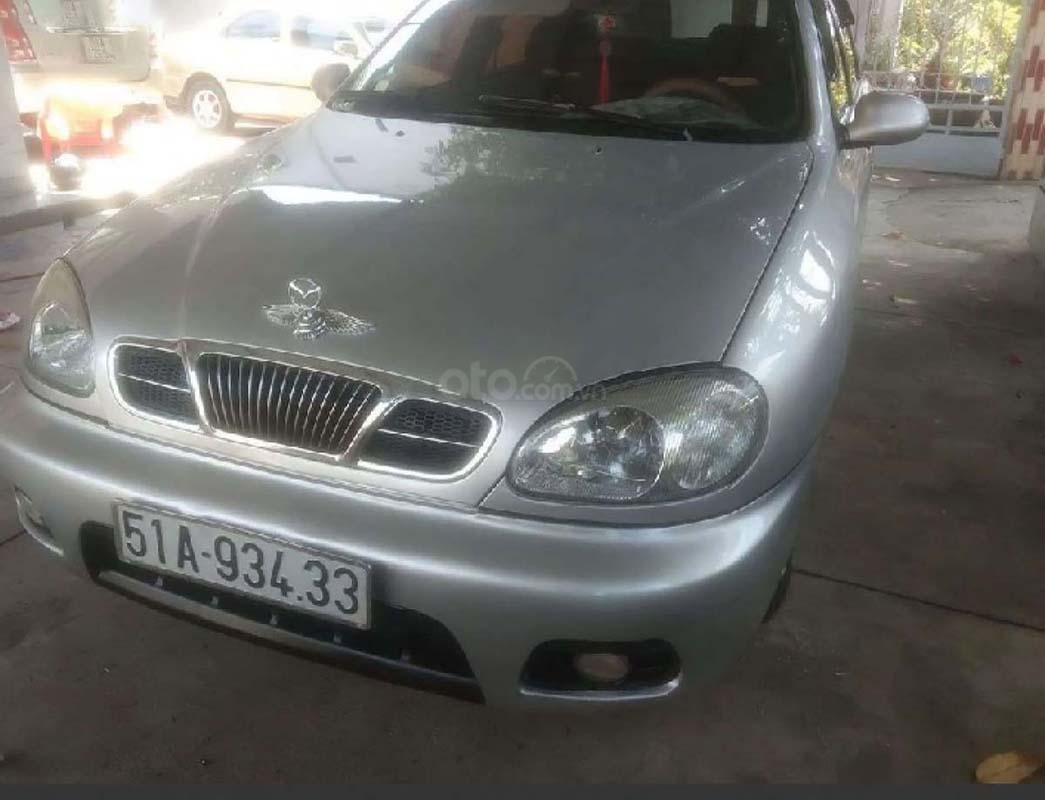 Bán xe Daewoo Lanos SX sản xuất 2002, màu bạc (2)