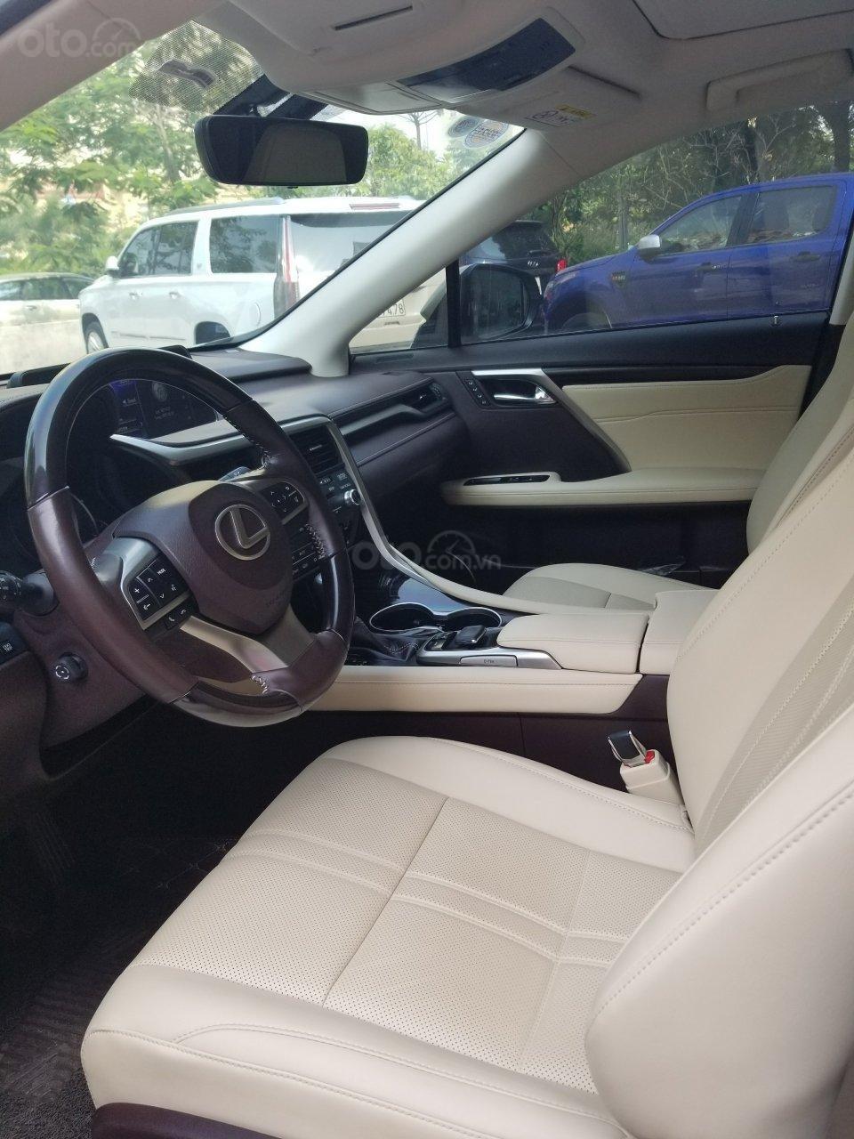 Bán xe Lexus RX 350 SX 2017, màu vàng, xe nhập (13)