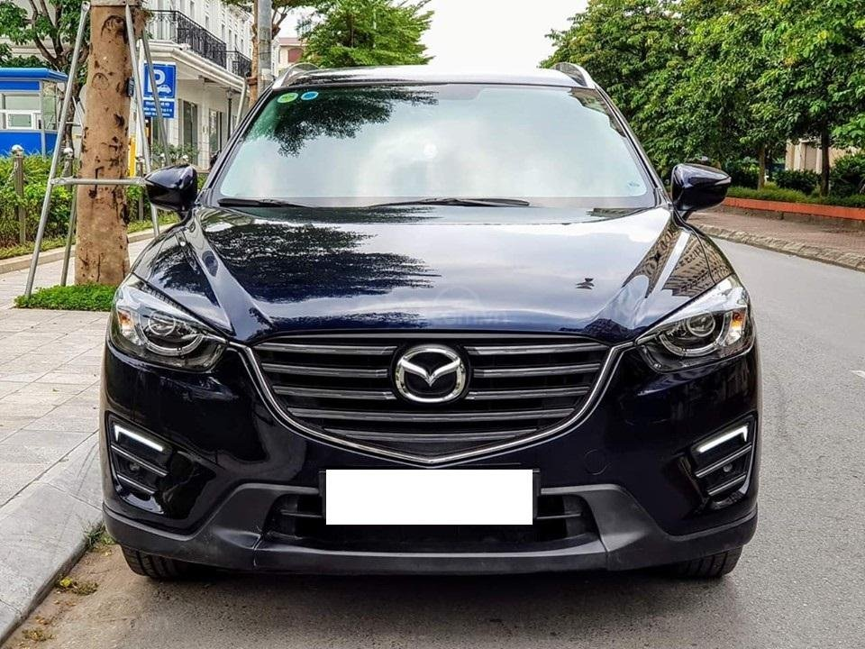 Bán Mazda CX5 2017 số tự động, bản 2.0, màu xanh Cavansite (1)