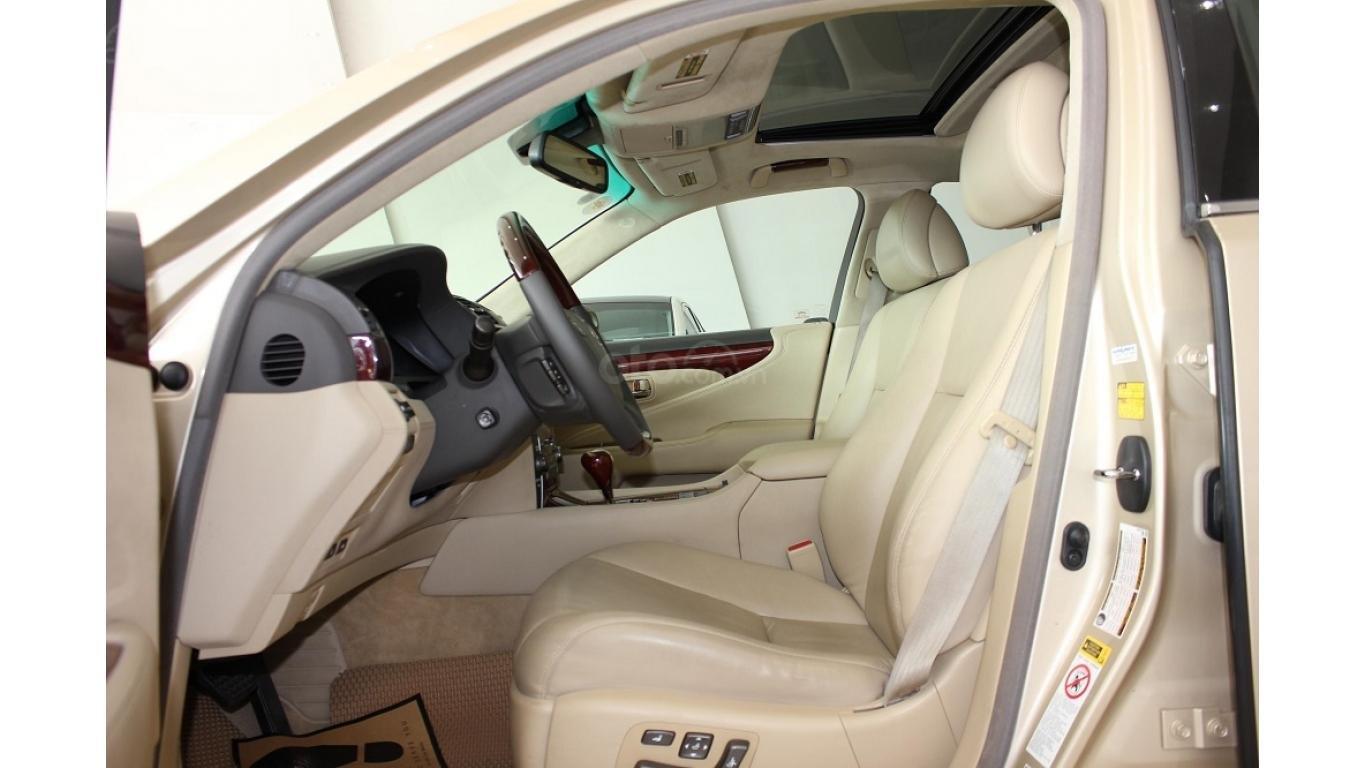 HCM: Lexus LS 600HL 5.0 AT 2010, màu vàng, xe nhập (7)