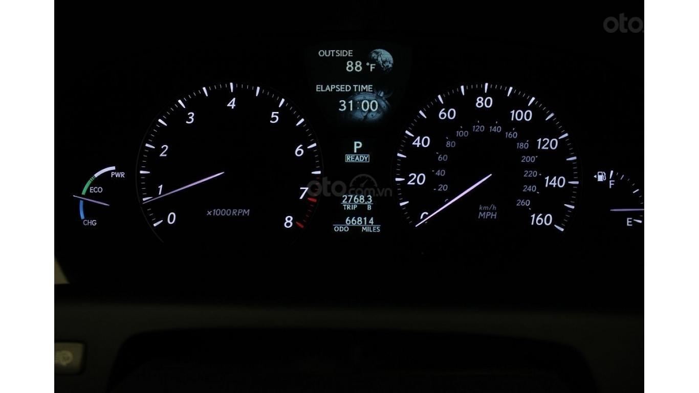 HCM: Lexus LS 600HL 5.0 AT 2010, màu vàng, xe nhập (12)