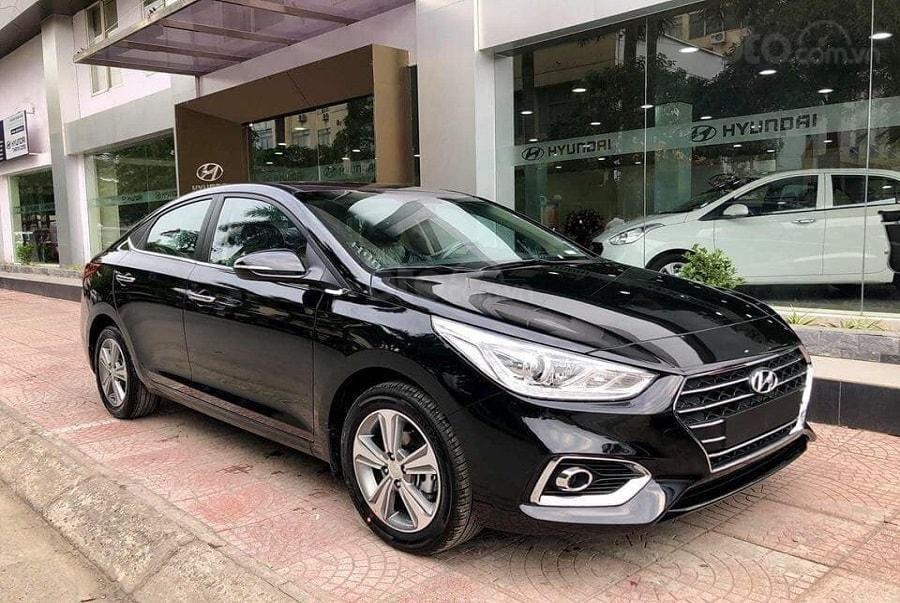 Bán Hyundai Accent 2020, giá từ 425tr, màu trắng, giao ngay - LH: 0919293553 (1)