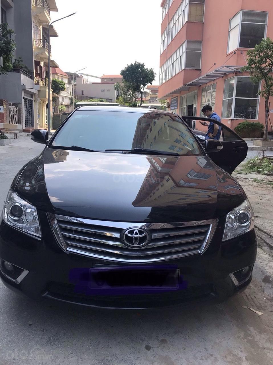 Chính chủ bán xe Camry 2.4G sản xuất và đăng ký năm 2010 (1)