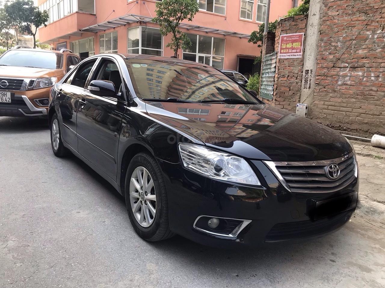 Chính chủ bán xe Camry 2.4G sản xuất và đăng ký năm 2010 (2)