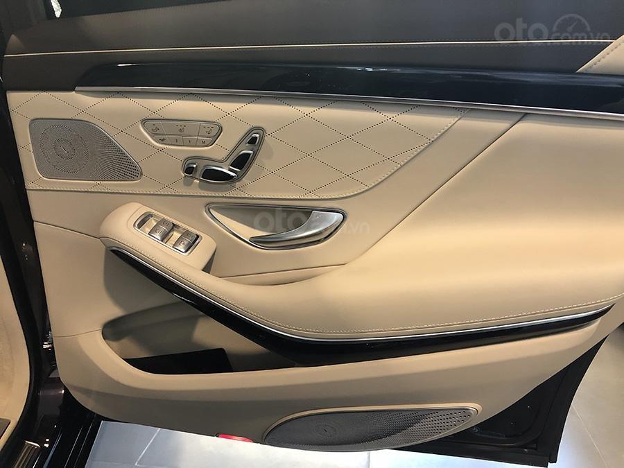 Bán Mercedes S450 Luxury 2019 chạy lướt 3000 km, màu đen, nội thất be giá cực rẻ (12)