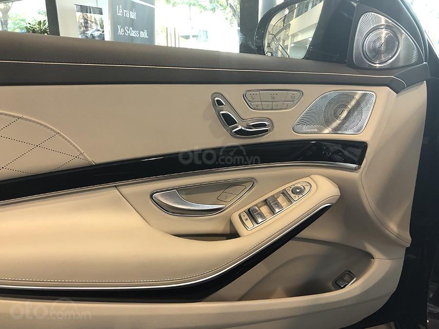 Bán Mercedes S450 Luxury 2019 chạy lướt 3000 km, màu đen, nội thất be giá cực rẻ (11)