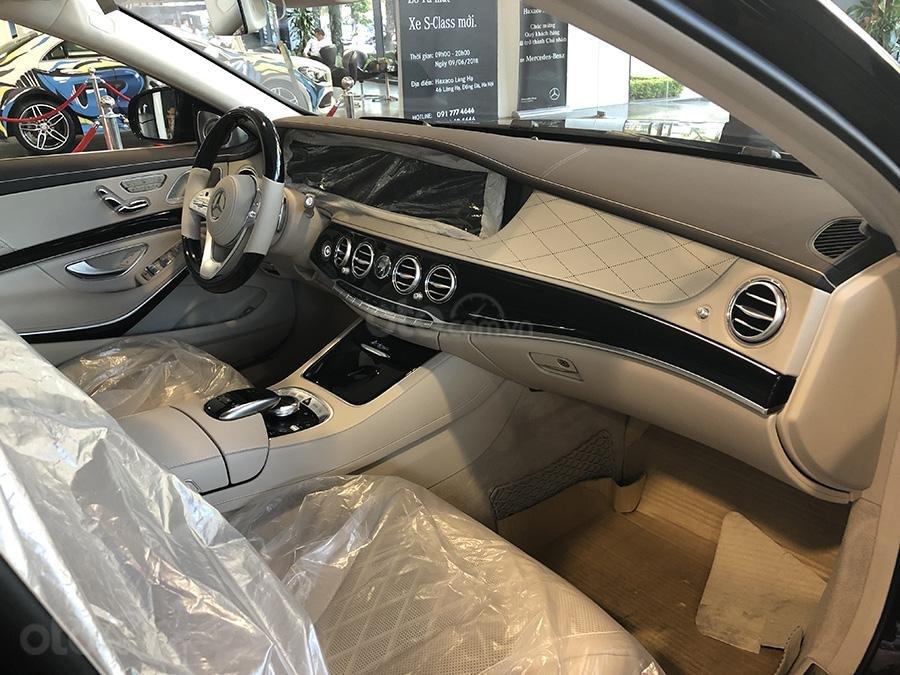 Bán Mercedes S450 Luxury 2019 chạy lướt 3000 km, màu đen, nội thất be giá cực rẻ (8)