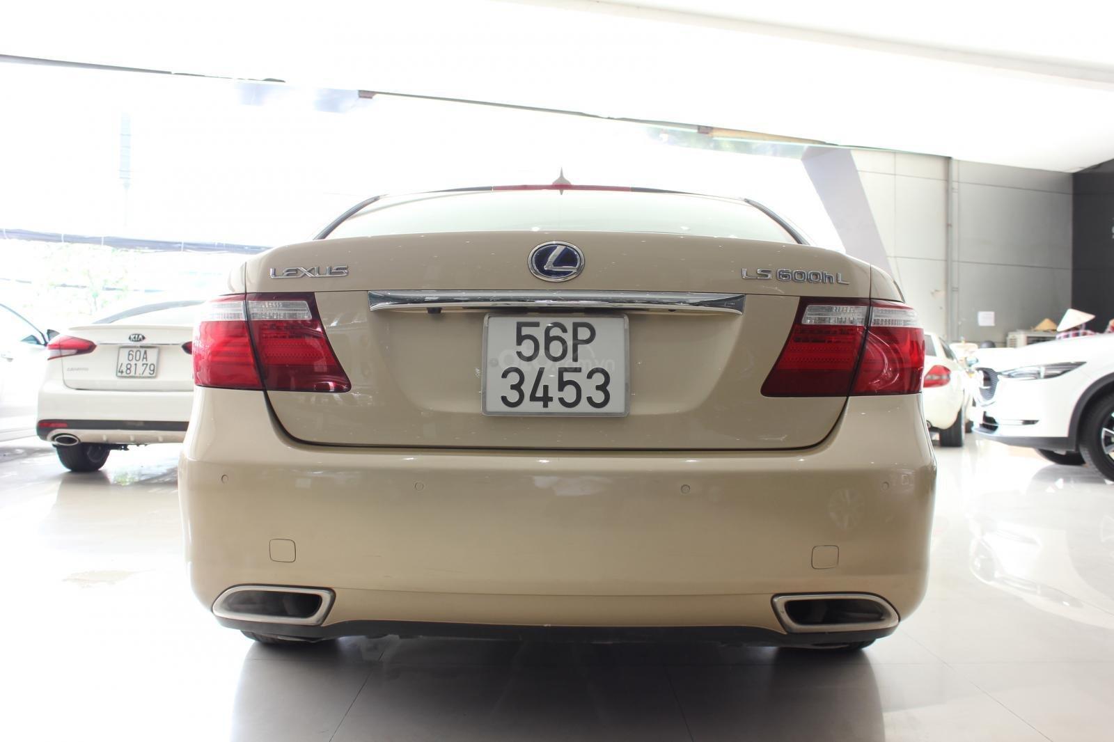Cần bán xe Lexus LS 600HL 5.0 xăng điện 2008, màu vàng, nhập khẩu (5)
