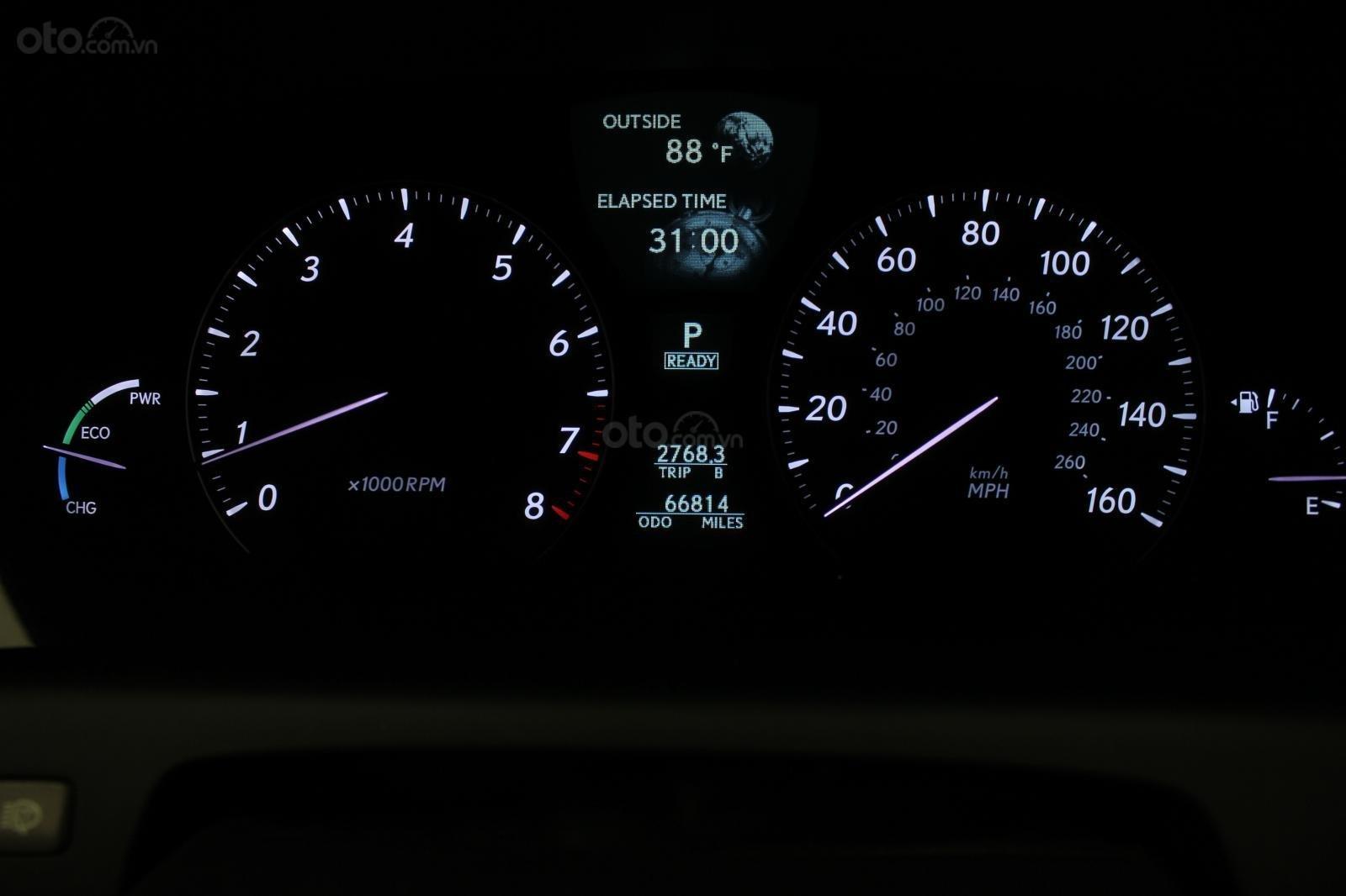 Cần bán xe Lexus LS 600HL 5.0 xăng điện 2008, màu vàng, nhập khẩu (9)
