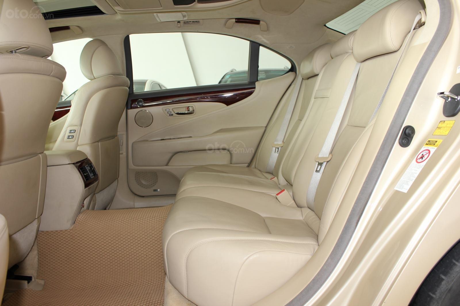 Cần bán xe Lexus LS 600HL 5.0 xăng điện 2008, màu vàng, nhập khẩu (10)