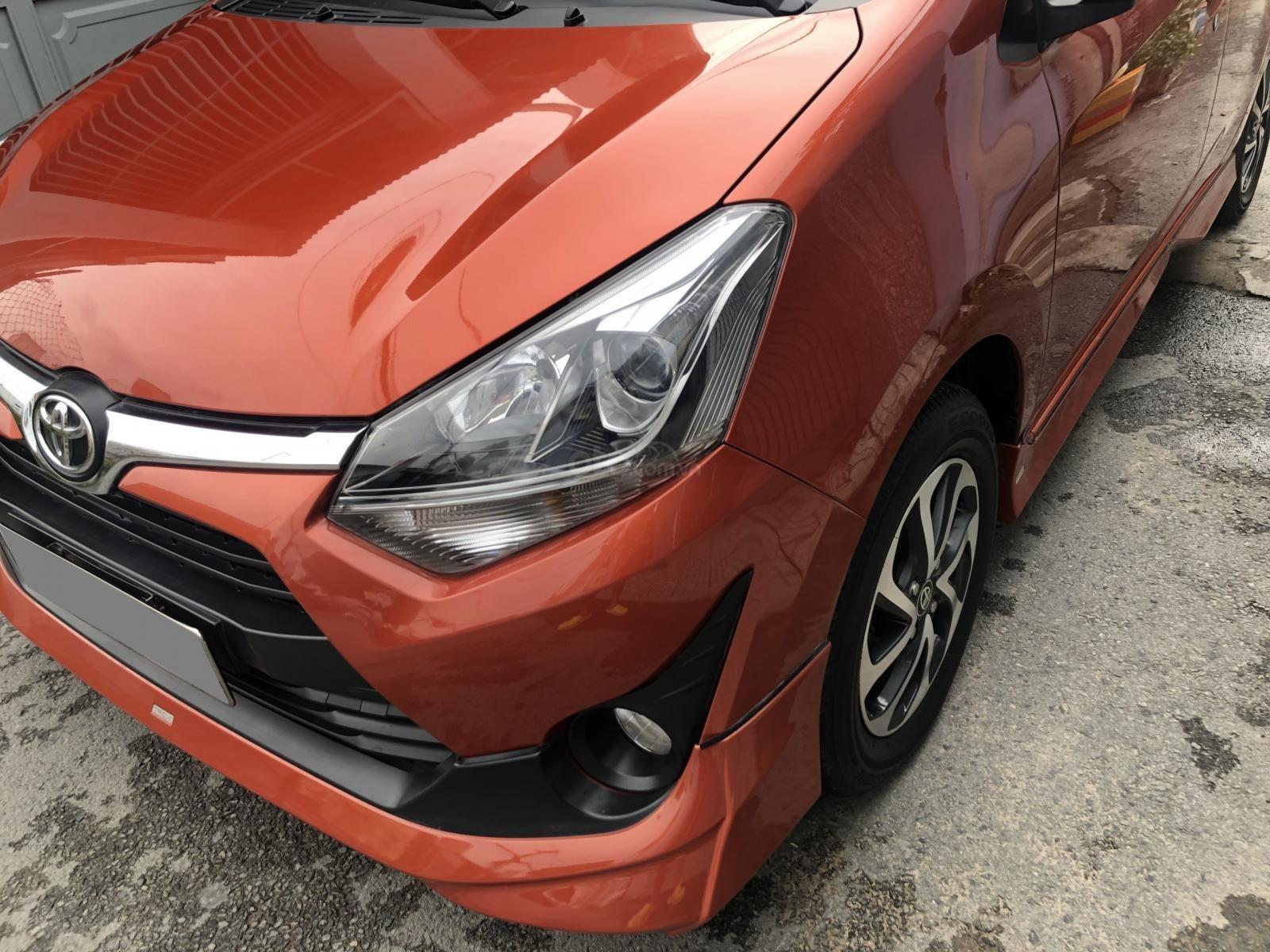 Bán Toyota Wigo tự động, nhập Indo 2019, cam thể thao rất mới (3)