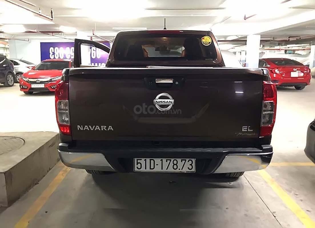 Chính chủ bán xe Nissan Navara EL 2.5 AT 2WD năm 2017, màu nâu, nhập khẩu  (5)