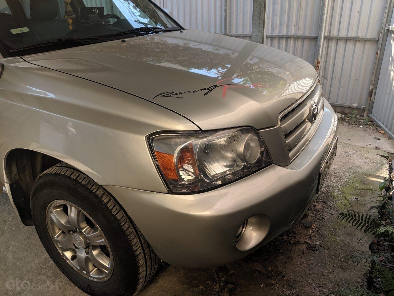 Bán Toyota Highlander 2006 3.3L V6, màu bạc, xe nhập (2)