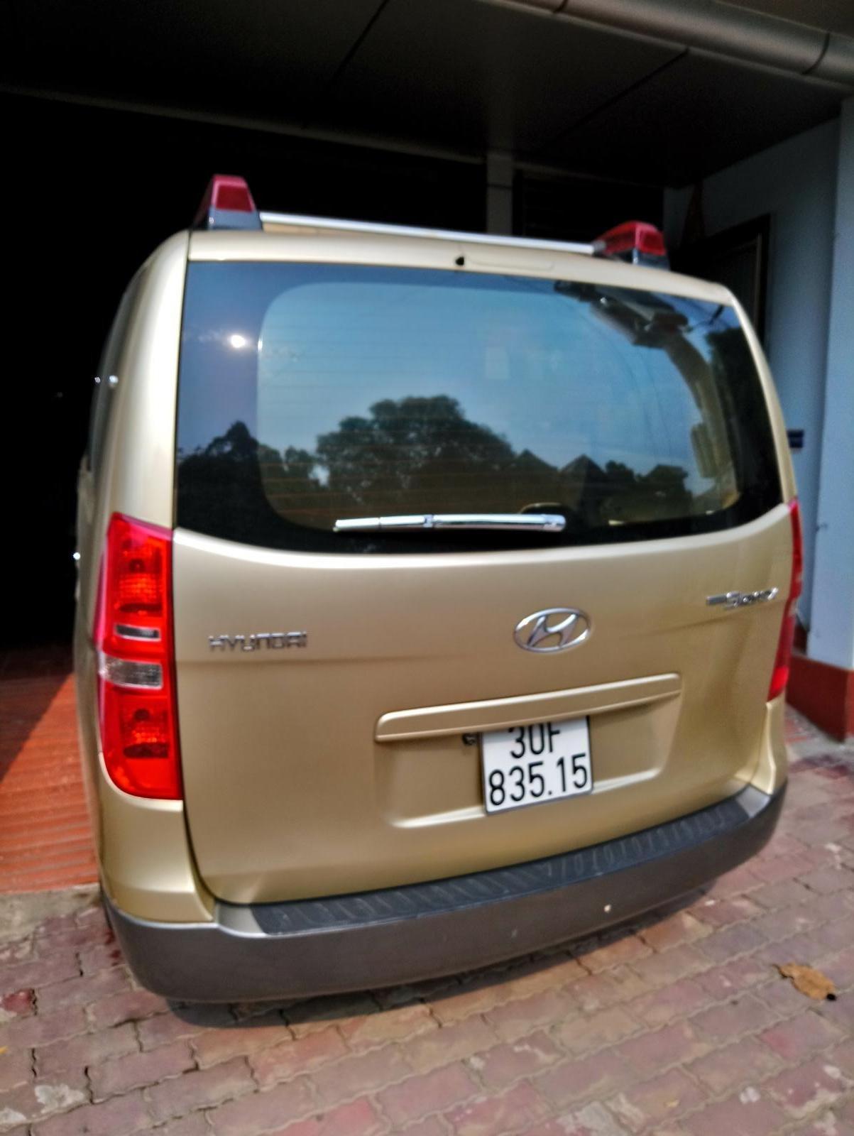 Bán Hyundai Starex MT 2.5 9 chỗ ĐK 2012, màu vàng, nhập khẩu (2)