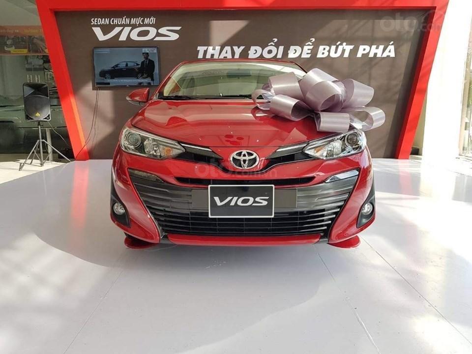 Vios 1.5G CVT 2019, giá tốt nhất miền Bắc, trả góp 90% giá trị xe, đủ màu giao ngay, LH 097.656.0012 (2)