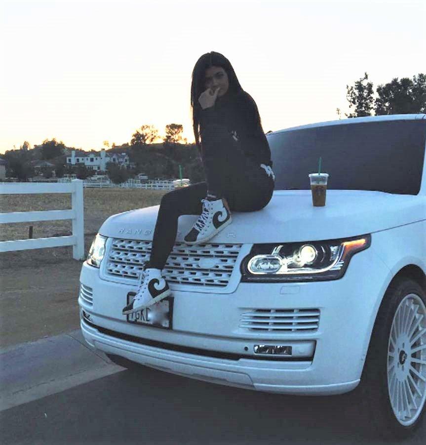 Range Rover của Kylie Jenner.