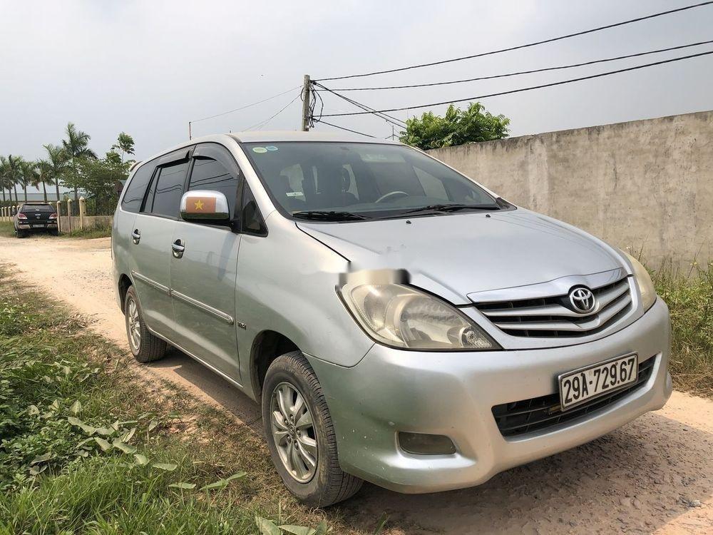 Cần bán Toyota Innova 2009, màu bạc, 360tr (10)