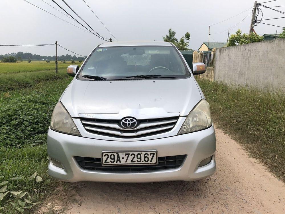 Cần bán Toyota Innova 2009, màu bạc, 360tr (1)