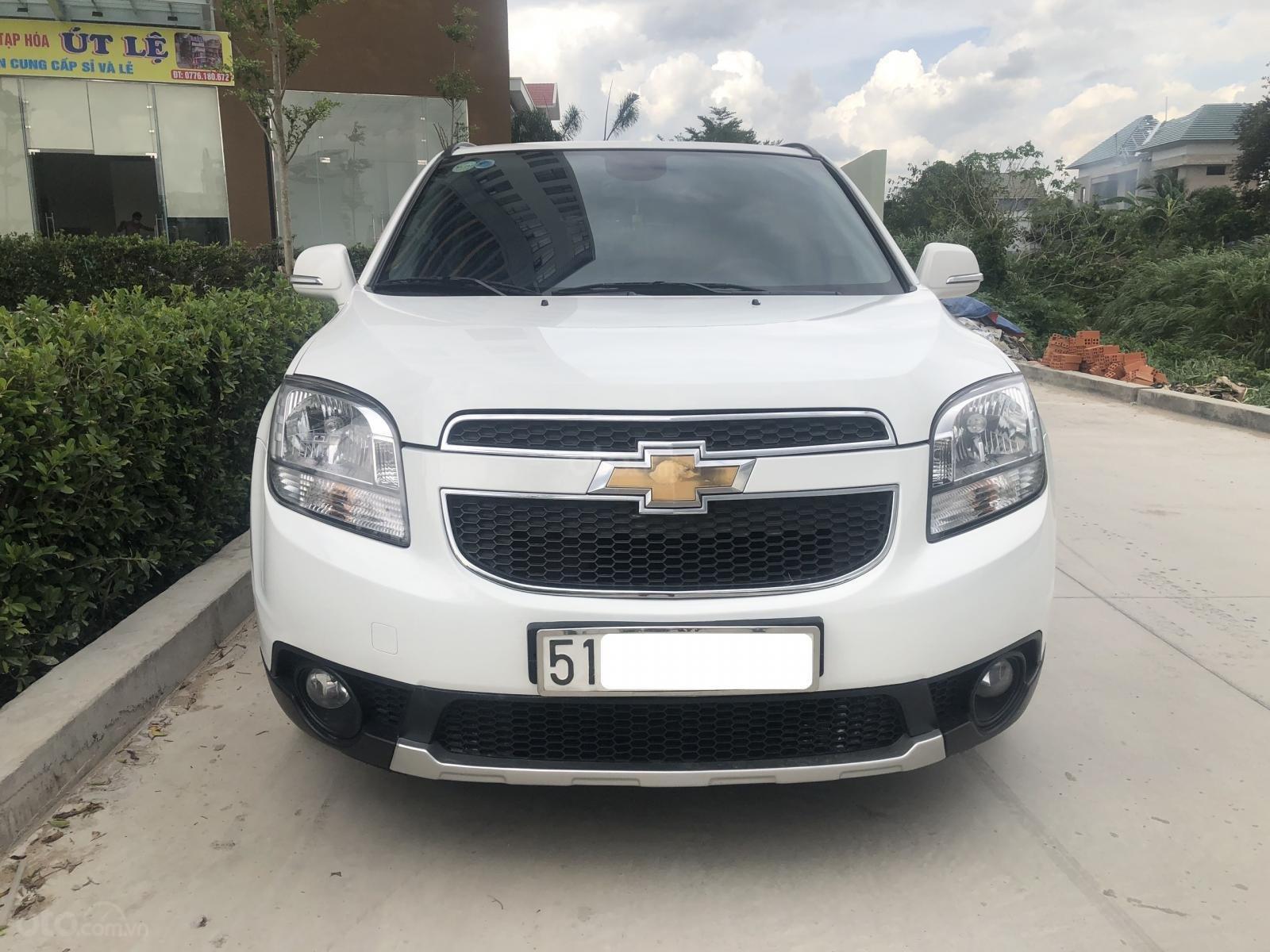 Bán Chevrolet Orlando LTZ full màu trắng, SX T12/2016 (1)