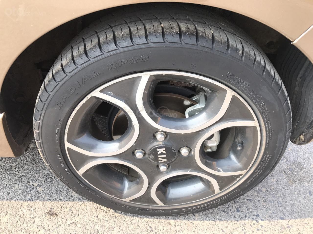 Bán ô tô Kia Morning Sport đời 2011, màu nâu, nhập khẩu, bản full 8 túi khí, đề nồ start, xe tuyển (21)