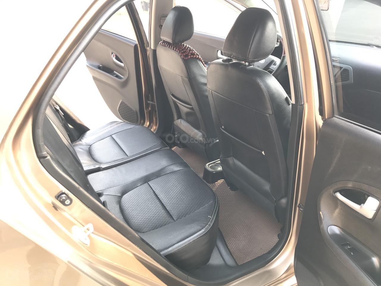 Bán ô tô Kia Morning Sport đời 2011, màu nâu, nhập khẩu, bản full 8 túi khí, đề nồ start, xe tuyển (20)