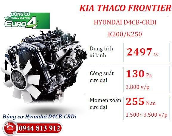 Kia Bongo 2 tấn đời 2019 - New Frontier K200 - động cơ Hyundai Euro4, trả góp tại Bình Dương, LH - 0938.933.753 (7)