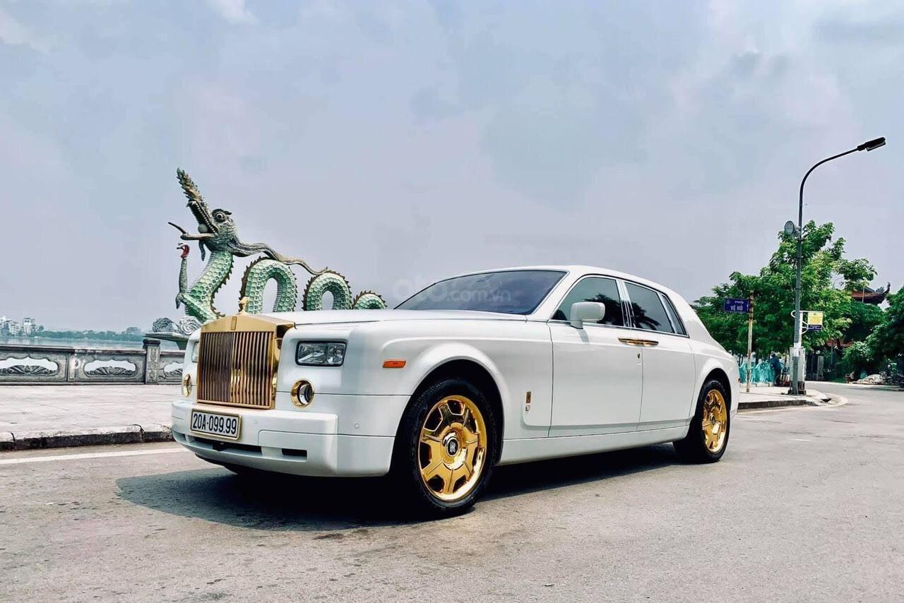 Bán Rolls-Royce Phantom Phantom năm sản xuất 2008, màu trắng, nhập khẩu nguyên chiếc (4)