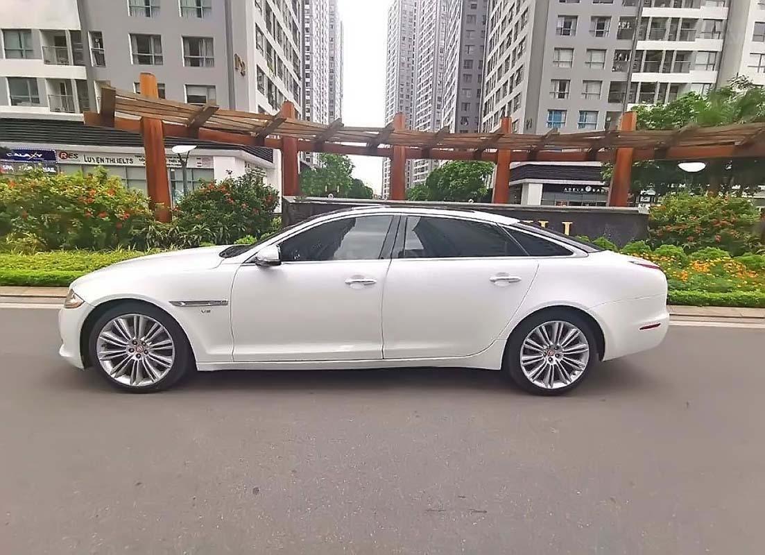 Bán Jaguar XJ năm sản xuất 2011, màu trắng, nhập khẩu (1)