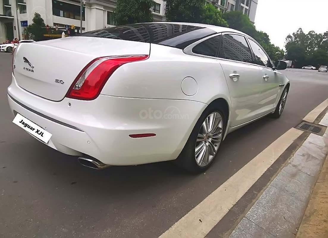 Bán Jaguar XJ năm sản xuất 2011, màu trắng, nhập khẩu (2)