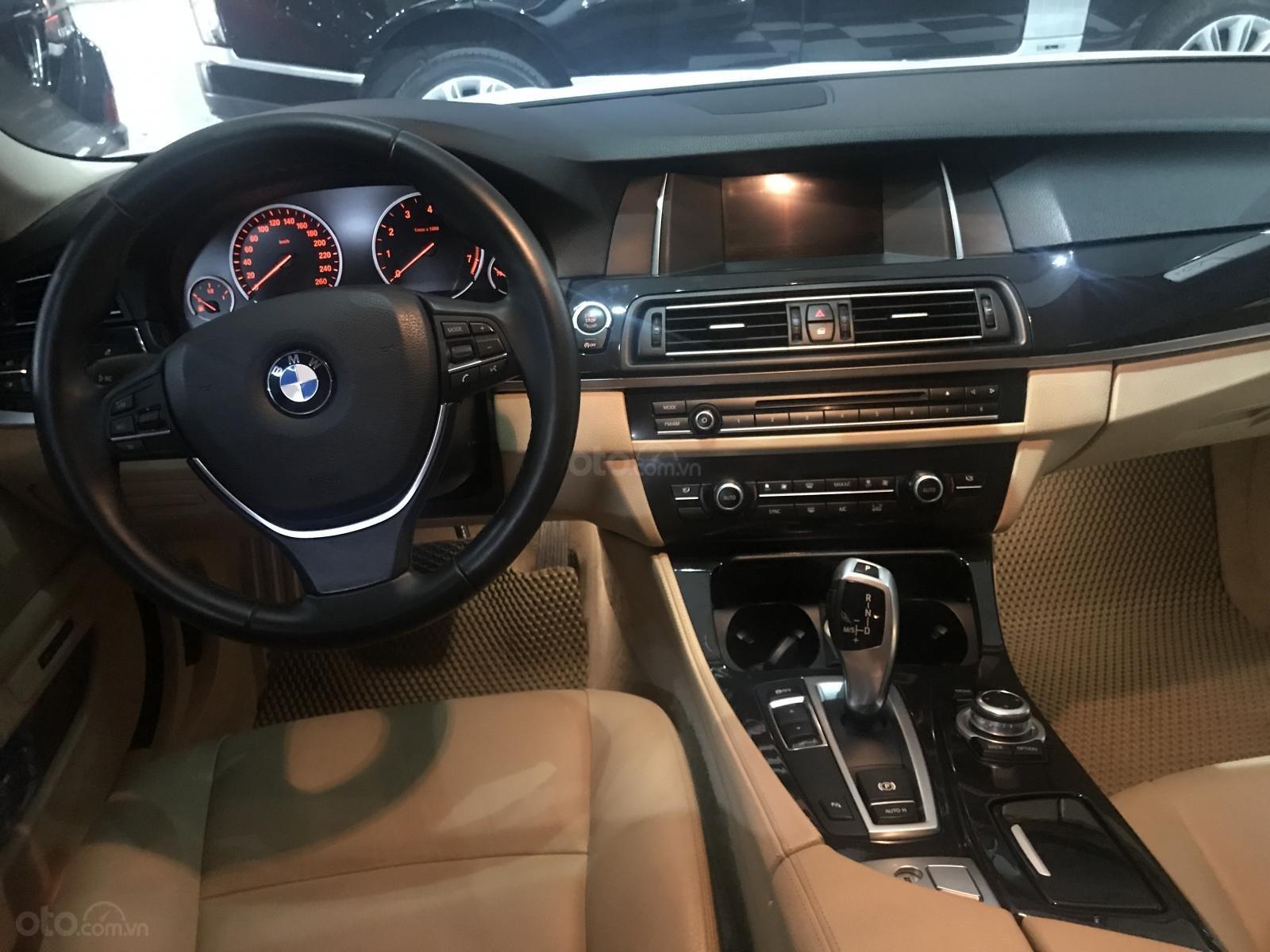 Bán BMW 535i 2015, màu trắng, nhập khẩu (7)