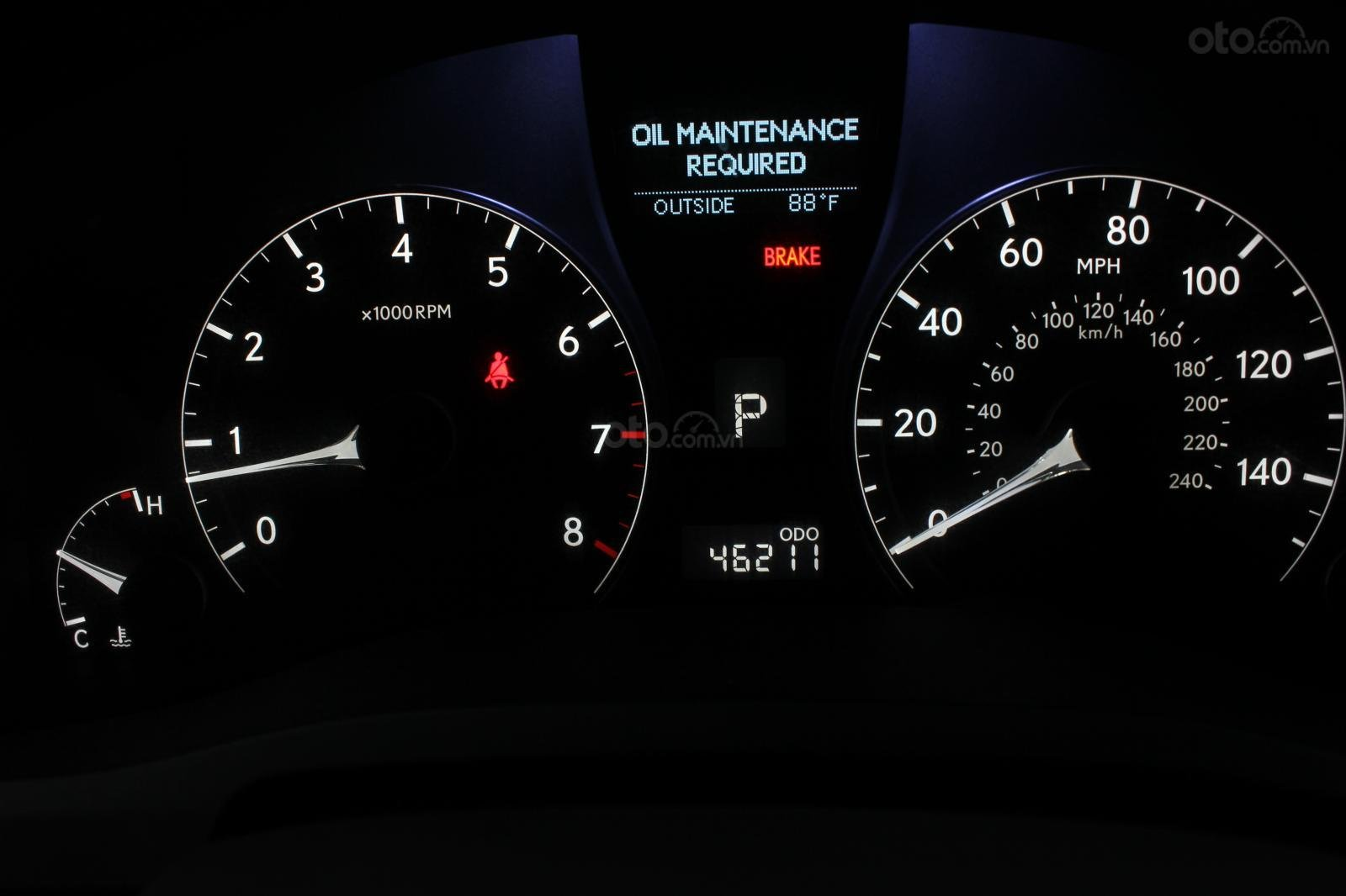 Bán Lexus RX350 năm 2009, màu xanh lam, nhập khẩu nguyên chiếc (10)