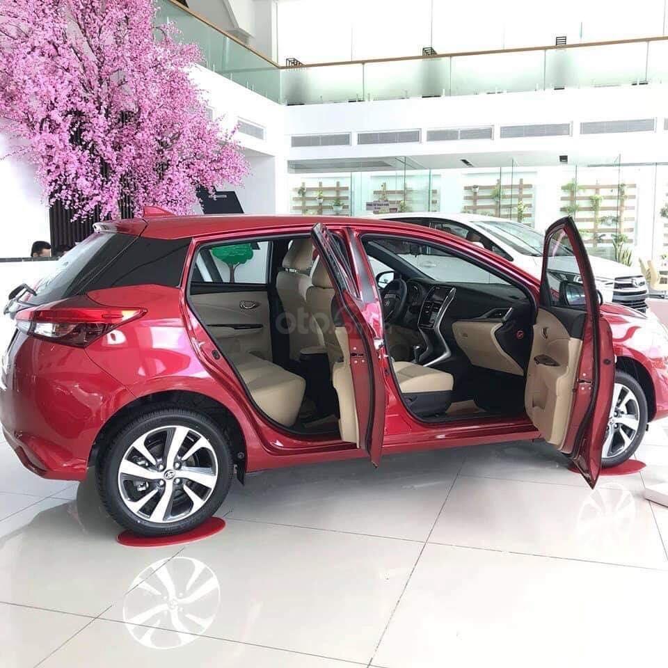 Bán Toyota Yaris 2019 nhập khẩu 100%, cam kết giá tốt, đủ màu - giao ngay, hỗ trợ trả góp 80% lãi suất ưu đãi (6)