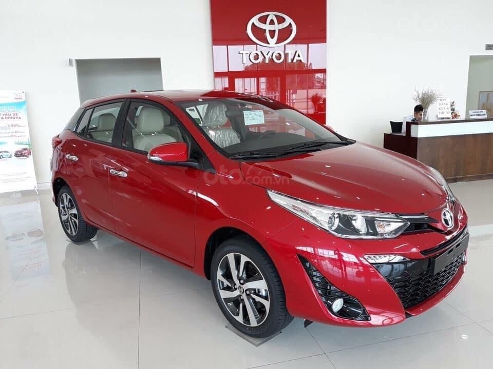 Bán Toyota Yaris 2019 nhập khẩu 100%, cam kết giá tốt, đủ màu - giao ngay, hỗ trợ trả góp 80% lãi suất ưu đãi (1)