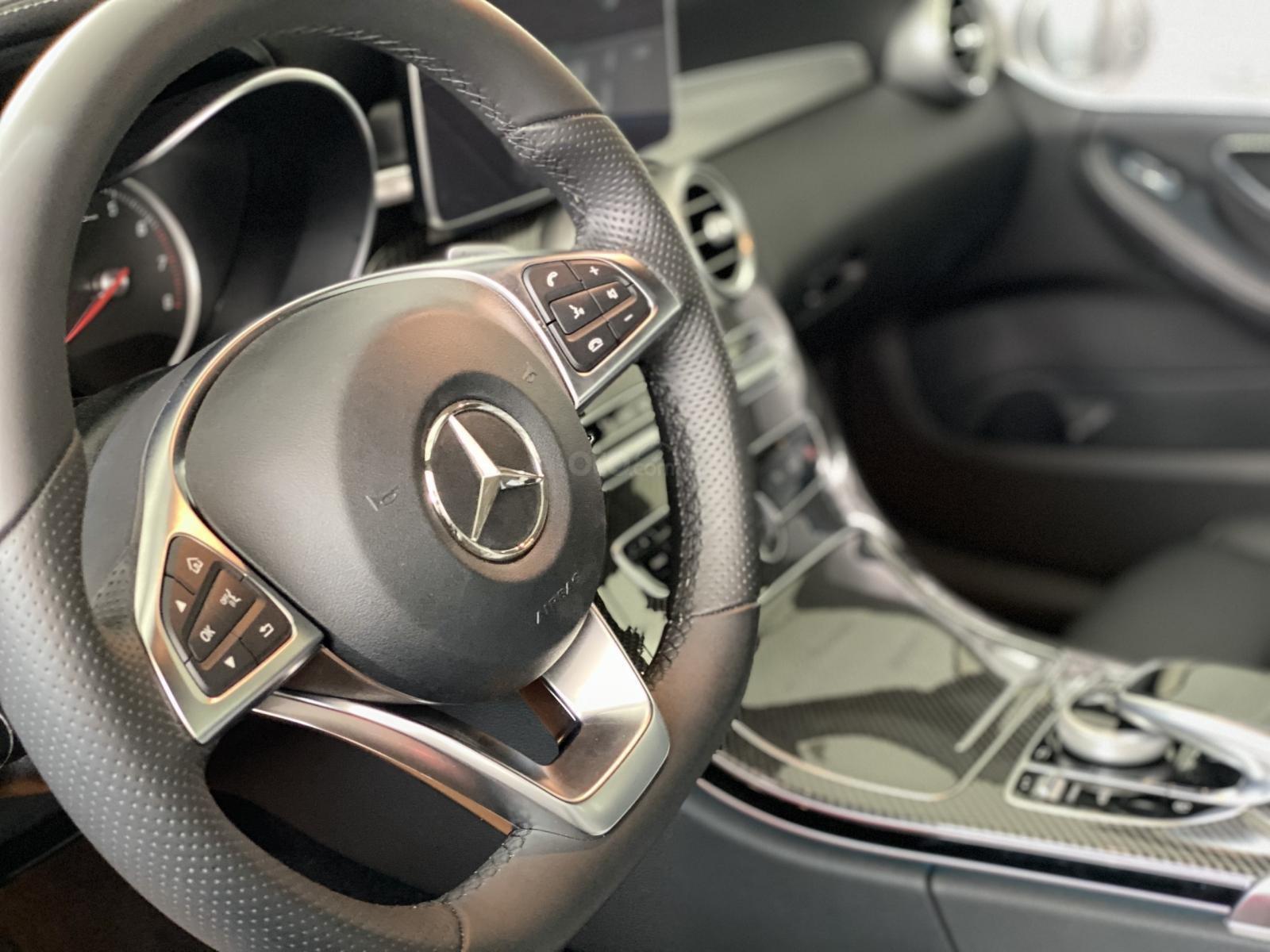 Bán Mercedes C300 AMG model 2018, bảo hành 5 năm, chính hãng, hỗ trợ trả góp (8)
