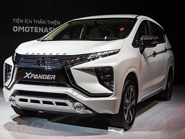 Mitsubishi Xpander AT đời 2019, màu trắng, nhập khẩu nguyên chiếc, giá chỉ 620 triệu (1)
