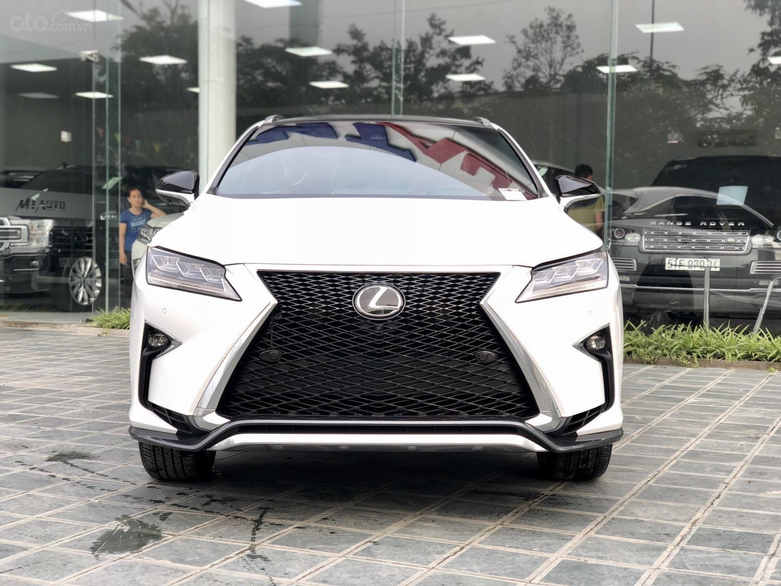 Bán xe Lexus RX350 Fsport 2019 màu trắng, mới 100% nhậP Mỹ. Trả trước 1 tỷ, bank hỗ trợ 80%. Em Lộc: 093.798.2266 (1)