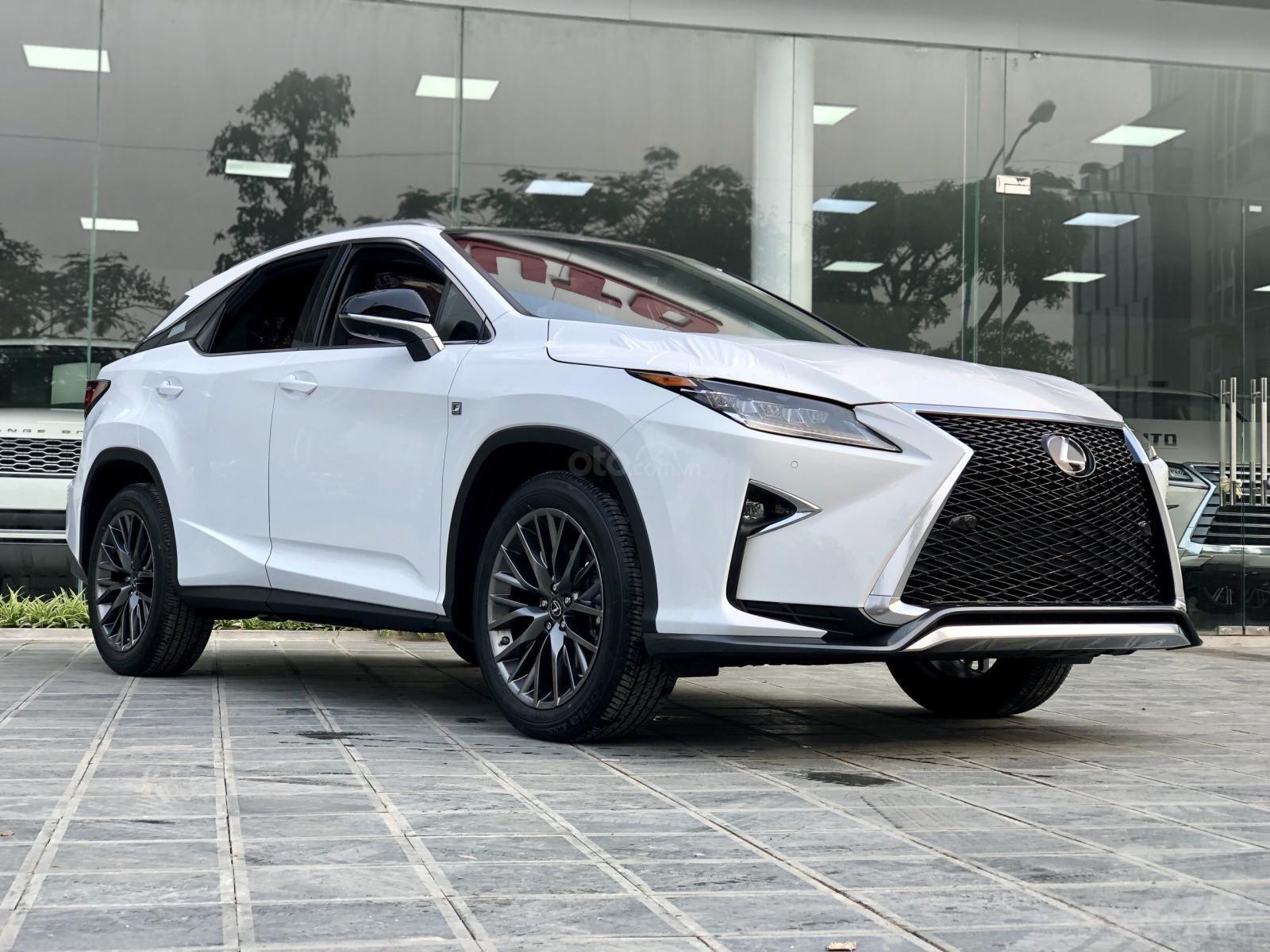 Bán xe Lexus RX350 Fsport 2019 màu trắng, mới 100% nhậP Mỹ. Trả trước 1 tỷ, bank hỗ trợ 80%. Em Lộc: 093.798.2266 (2)
