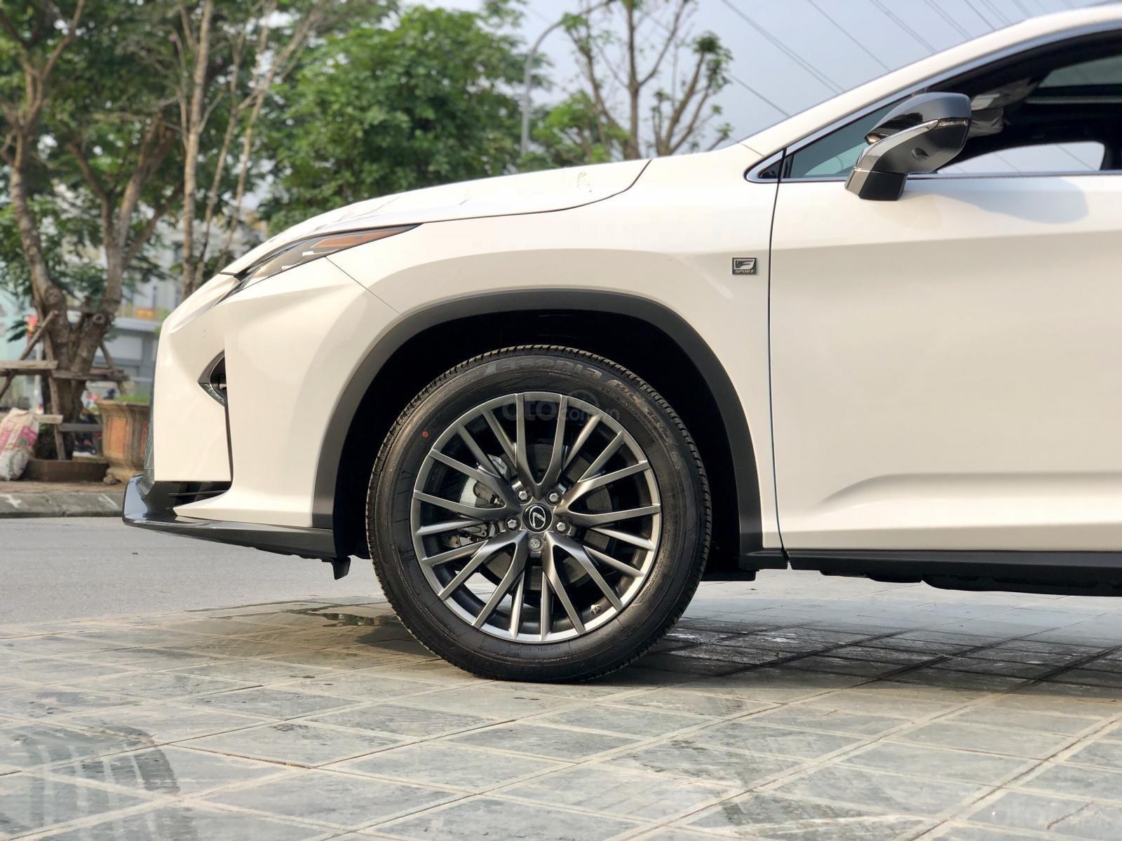 Bán xe Lexus RX350 Fsport 2019 màu trắng, mới 100% nhậP Mỹ. Trả trước 1 tỷ, bank hỗ trợ 80%. Em Lộc: 093.798.2266 (8)