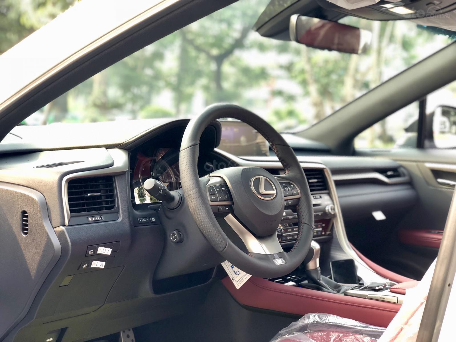 Bán xe Lexus RX350 Fsport 2019 màu trắng, mới 100% nhậP Mỹ. Trả trước 1 tỷ, bank hỗ trợ 80%. Em Lộc: 093.798.2266 (11)