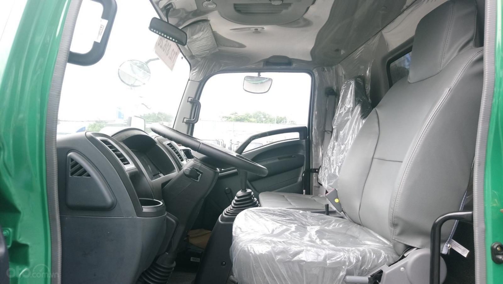 Giá siêu tốt xe ben Howo 6t5, thùng 5.2 khối (5)