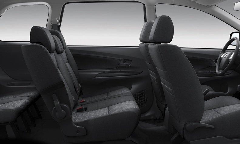 Nội thất của Toyota Avanza.