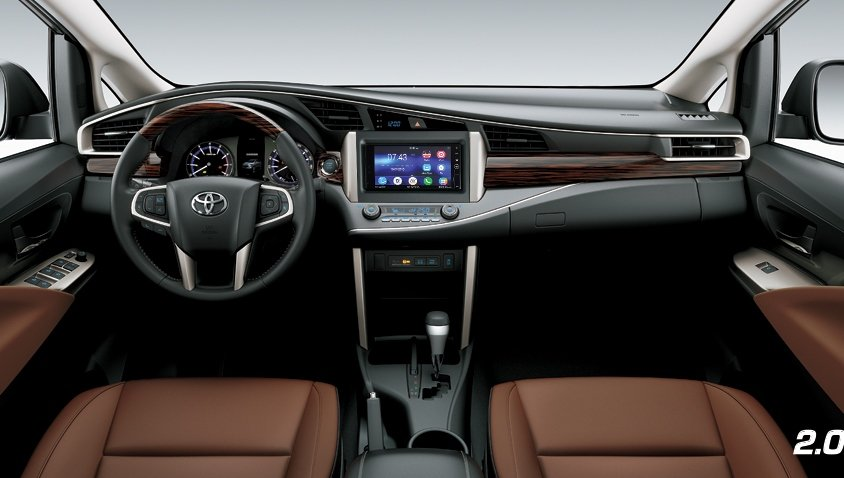 Nội thất của Toyota Innova .